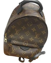 Louis Vuitton Pre-owned Palm Springs Cloth Backpack