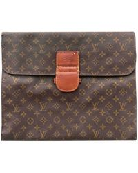 Louis Vuitton Leather Small Bag - Brown