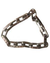 Louis Vuitton Monogram Silver Jewellery - Metallic