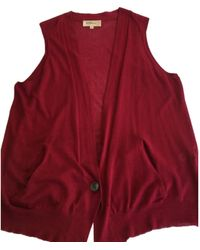 Isabel Marant Red Cotton Knitwear