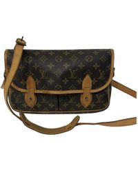 Louis Vuitton - Vintage Sologne Other Cloth Clutch Bag - Lyst