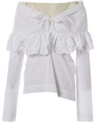 Isa Arfen Camisa en algodón blanco