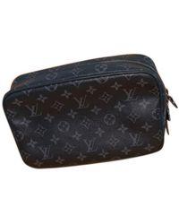 Louis Vuitton Trousse De Toilette Cloth Small Bag - Black