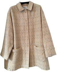 Chanel Abrigo en lana - Multicolor