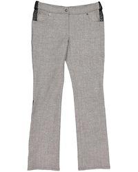 Dior Vintage Grey Wool Trousers