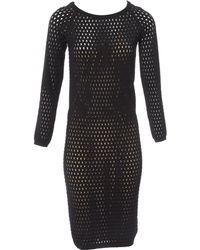 Tom Ford - Black Viscose Dress - Lyst