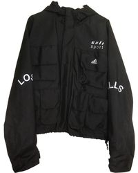 Yeezy - Black Synthetic Coat - Lyst