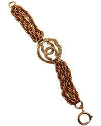 Chanel Cc Armbänder - Mettallic