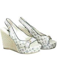 Louis Vuitton - Cloth Sandals - Multicolour