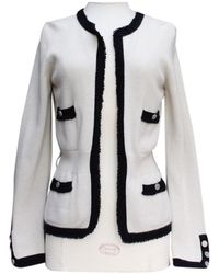 Chanel Jersey en cachemira crudo - Negro