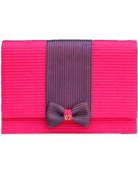 Nina Ricci Pink Cotton Handbag