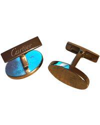 Cartier Silber Manschettenknöpfe - Mehrfarbig