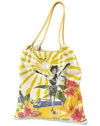 Lanvin - Pre-owned Cloth Handbag - Lyst