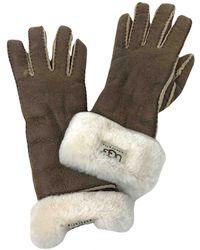 UGG Gloves - Brown