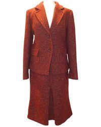 Max Mara Giacca in lana rosso