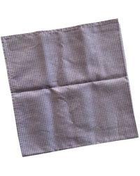 Brunello Cucinelli Chèches.Echarpes en Coton Violet