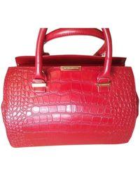 Victoria Beckham Leather Handbag - Red