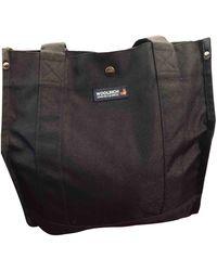 Woolrich Cloth Handbag - Black