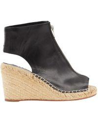 Céline - Pre-owned Leather Sandal - Lyst