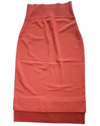 Givenchy Mid-length Skirt - Red