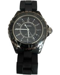 Chanel J12 Automatique Uhren - Schwarz