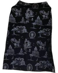 Maje Spring Summer 2019 Black Polyester Skirt