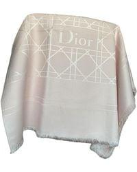 Dior Wolle Stola - Pink