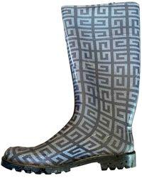 Givenchy Wellington Boots - Gray