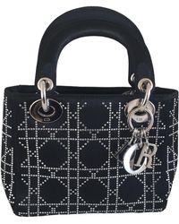 Dior Lady Seide Handtaschen - Schwarz