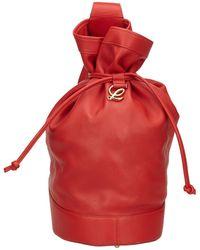 Loewe - Backpack Leather Backpack - Lyst