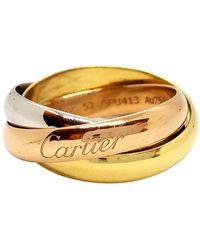 Cartier Anello in oro rosa dorato Trinity - Metallizzato