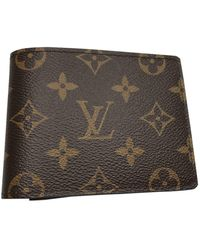 Louis Vuitton Brown Cloth Bag