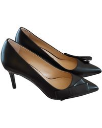 Claudie Pierlot Leather Heels - Black