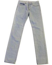 Givenchy Jeans en Coton Bleu