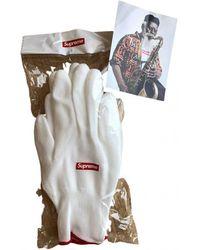 Supreme Handschuhe - Weiß