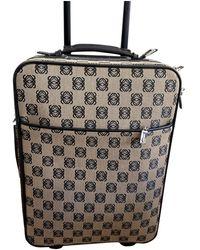 Loewe Cloth Travel Bag - Natural