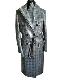 CALVIN KLEIN 205W39NYC Wool Coat - Gray
