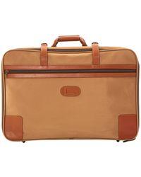 Lancel Beige Cloth Travel Bag - Natural