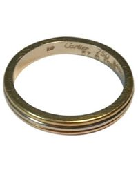 Cartier Trinity Gelbgold Ringe