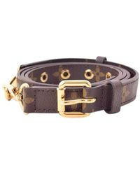 Louis Vuitton Brown Cloth Purse Wallet & Case