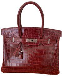 Hermès - Birkin 30 Krokodil Kleine Tasche - Lyst