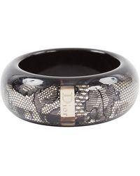 Dior - Black Plastic Bracelet - Lyst