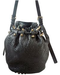 Alexander Wang Diego Leather Crossbody Bag - Black