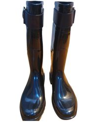 Burberry Wellington Boots - Blue