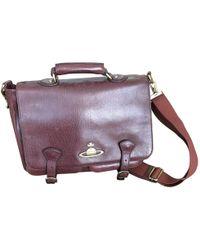 Vivienne Westwood - Brown Leather Bag - Lyst