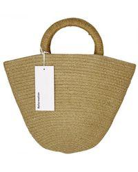 Reformation Cloth Handbag - Brown