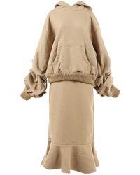 Johanna Ortiz - Brown Wool Dress - Lyst