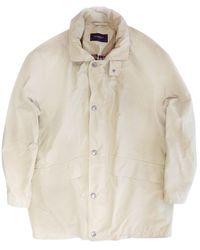 Burberry - Beige Cotton - Lyst