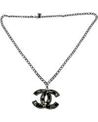 Chanel CC Colliers - Schwarz
