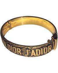 Dior Pulsera en metal dorado J'a - Metálico